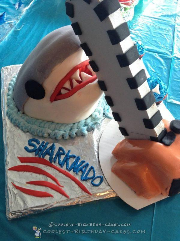 Excellent Coolest Homemade Shark Cakes Funny Birthday Cards Online Fluifree Goldxyz