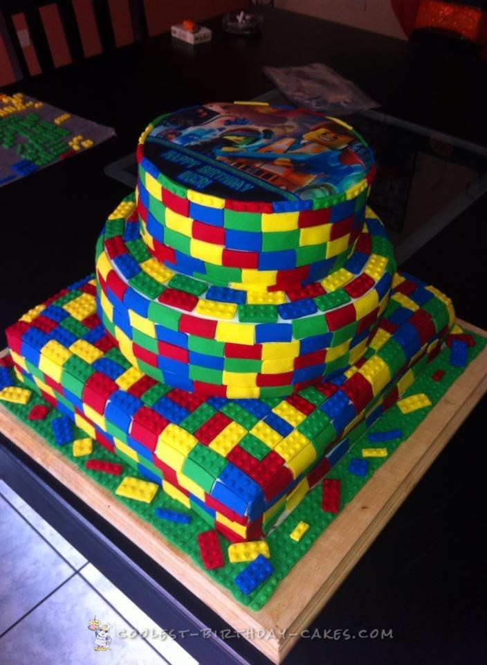 The Lego Movie Cake