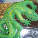 Lizard Birthday Cake Photos
