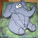 Elephant Birthday Cake Pictures