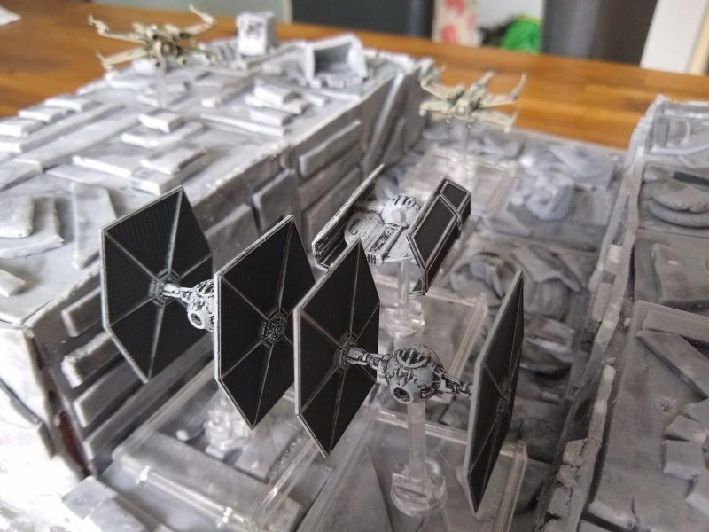 Death Star's Trench Run
