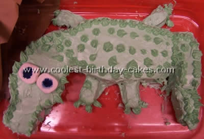 Alligator Cake Photo