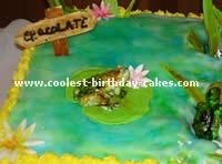 Animal Birthday Cakes - Flamingo