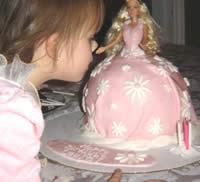 Barbie Cake Picture