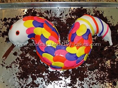 Snake Birthday Cake Picture