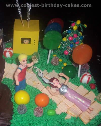 Willy Wonka and the Chocolate Factory Birthday Cake Photos