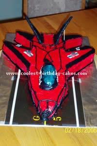 Airplane Cake Photo