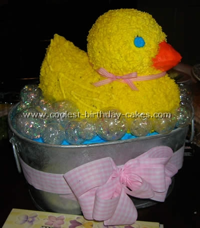 Rubber Ducky Kid Birthday Cake Ideas