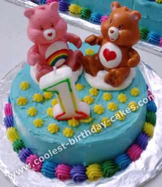 Coolest Care Bear Cake Ideas And Photos