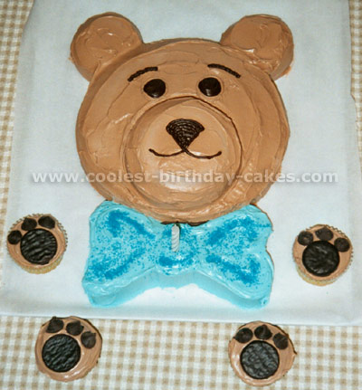 Teddy Bear Childrens Cakes