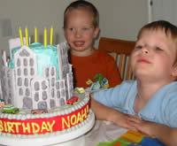 Skyscraper Cake
