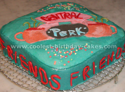 Movie Camera Cake