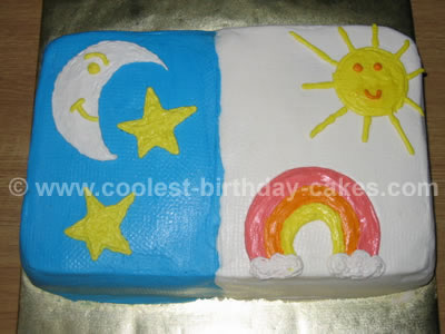 Night and Day Cake