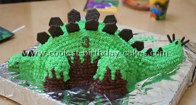 Dinosaur Picture Cake