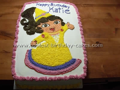 Dora Birthday Cake Photo
