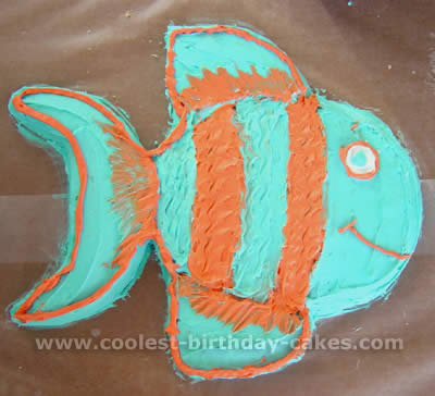 Fish Birthday Cake Photo