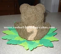 Free Cake Decorating Ideas for a Teddy Bear Cake
