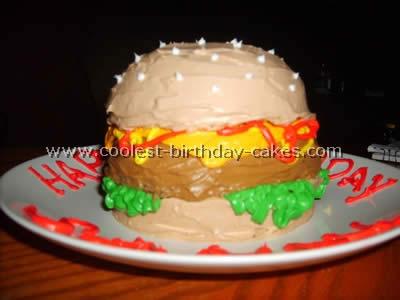 Hamburger Cake