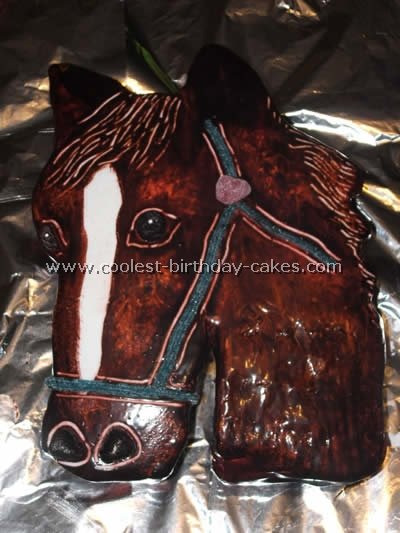Horse Birthday Cake Pictures