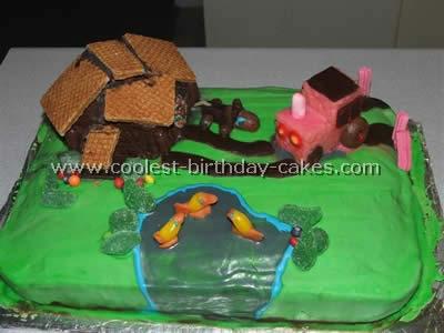 Farming Scene Cake