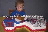 Pictures of a Spiderman Cake