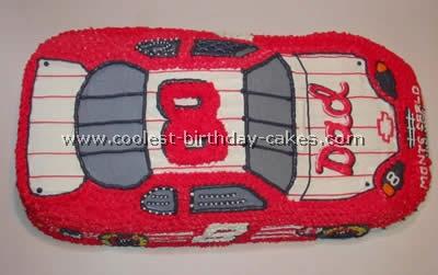 Nascar Race Car Cake Shaped Pan
