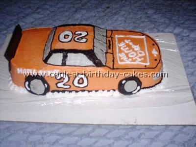 Race Car D Nascar Cake Pan