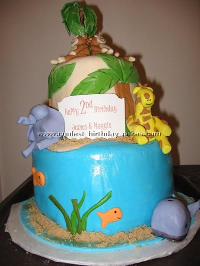 Coolest Jungle And Safari Cake Ideas