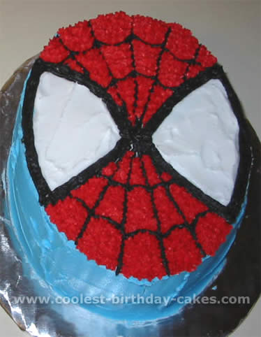 Spiderman Cake Photo