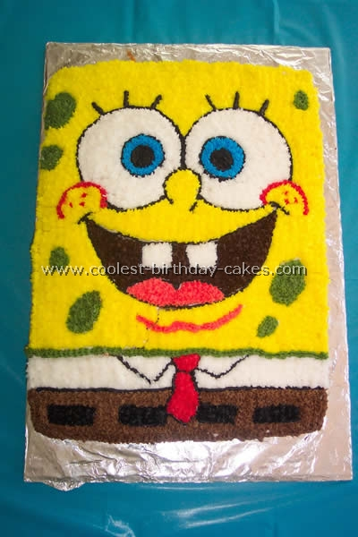 Coolest Spongebob Squarepants Cake Photos And How To Tips