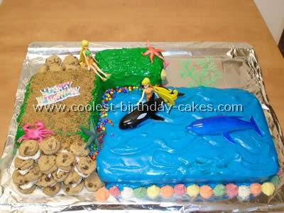 Beach Theme Kid Birthday Cake