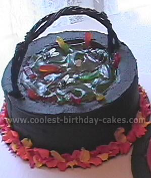 Witch Cake Photo